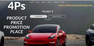 4Ps of Marketing Tesla